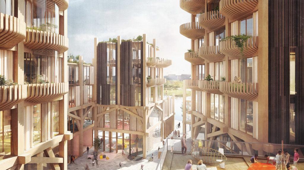 Thumbnail For Sidewalk Labs reveals Snøhetta and Heatherwick designs for its Toronto development